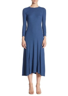 Ralph Lauren: Polo Polo Ralph Lauren Long Sleeve Midi Dress