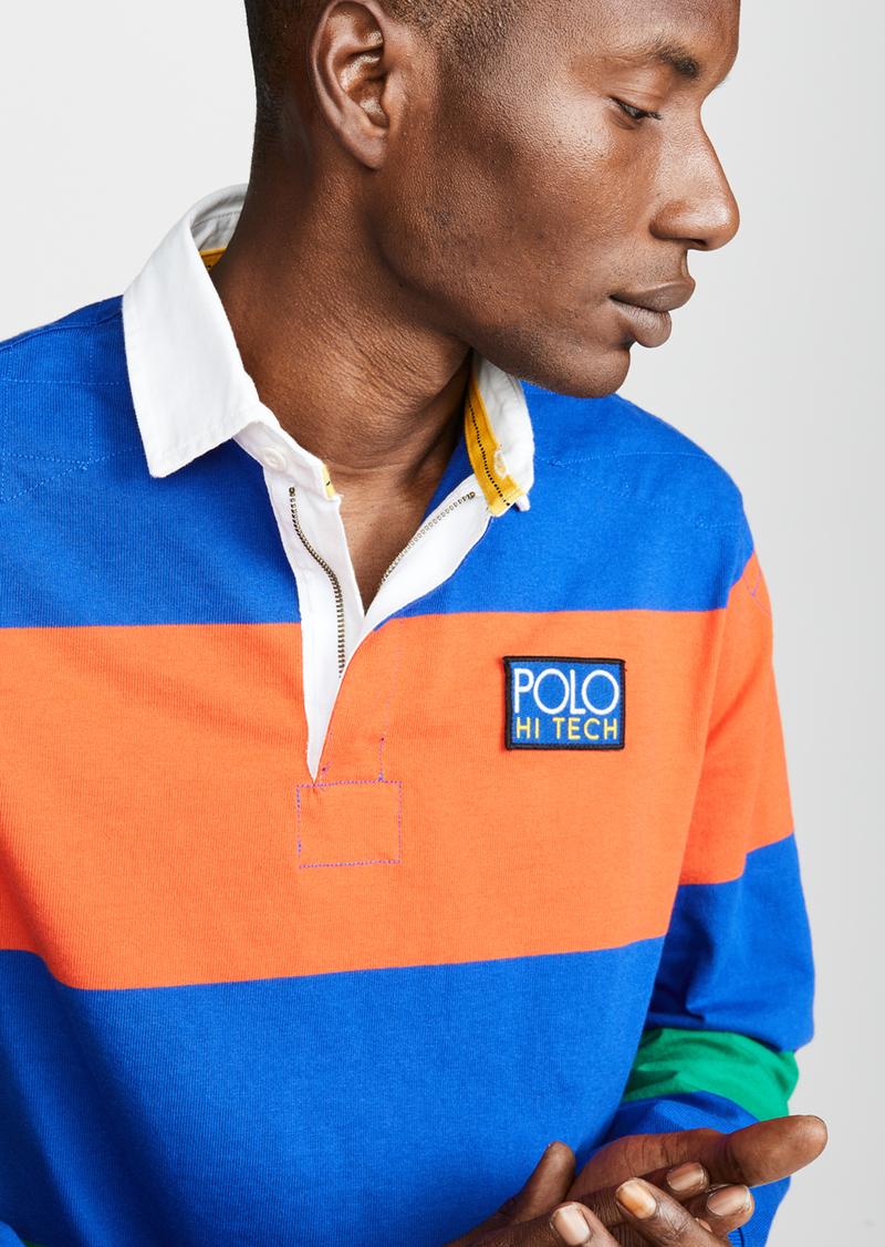 16f838be Ralph Lauren Polo Polo Ralph Lauren Hi Tech Long Sleeve Rugby Polo Shirt