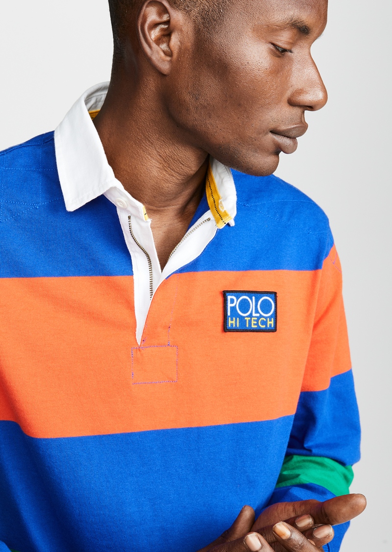 fc068ca1aed Ralph Lauren Polo Polo Ralph Lauren Hi Tech Long Sleeve Rugby Polo Shirt