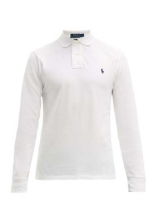 Ralph Lauren Polo Polo Ralph Lauren Long-sleeve slim-fit cotton polo shirt