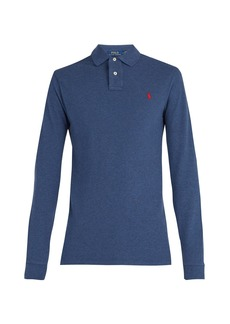Ralph Lauren Polo Polo Ralph Lauren Long-sleeved cotton-piqué polo shirt