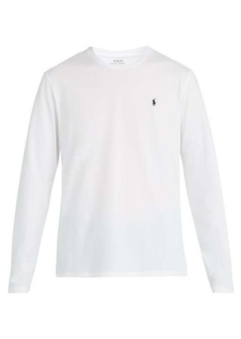 Ralph Lauren Polo Polo Ralph Lauren Long-sleeved cotton pyjama top