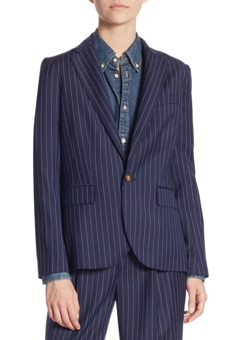 ef2219c5c598 Ralph Lauren: Polo Lorne Wool Blazer | Outerwear