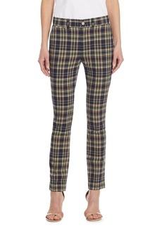 Polo Ralph Lauren Madras Straight-Leg Pants