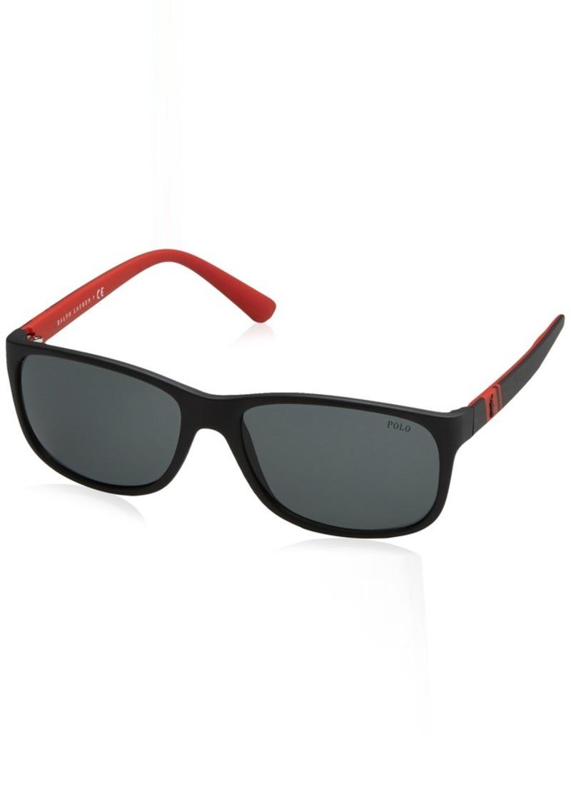 Ralph Lauren Polo Polo Ralph Lauren Men's 0ph4109 Rectangular Sunglasses  59 mm