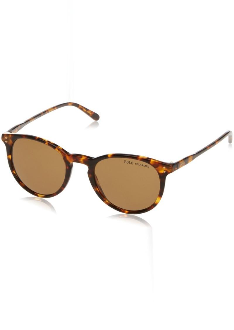 Ralph Lauren Polo Polo Ralph Lauren Men's PH4110 Round Sunglasses