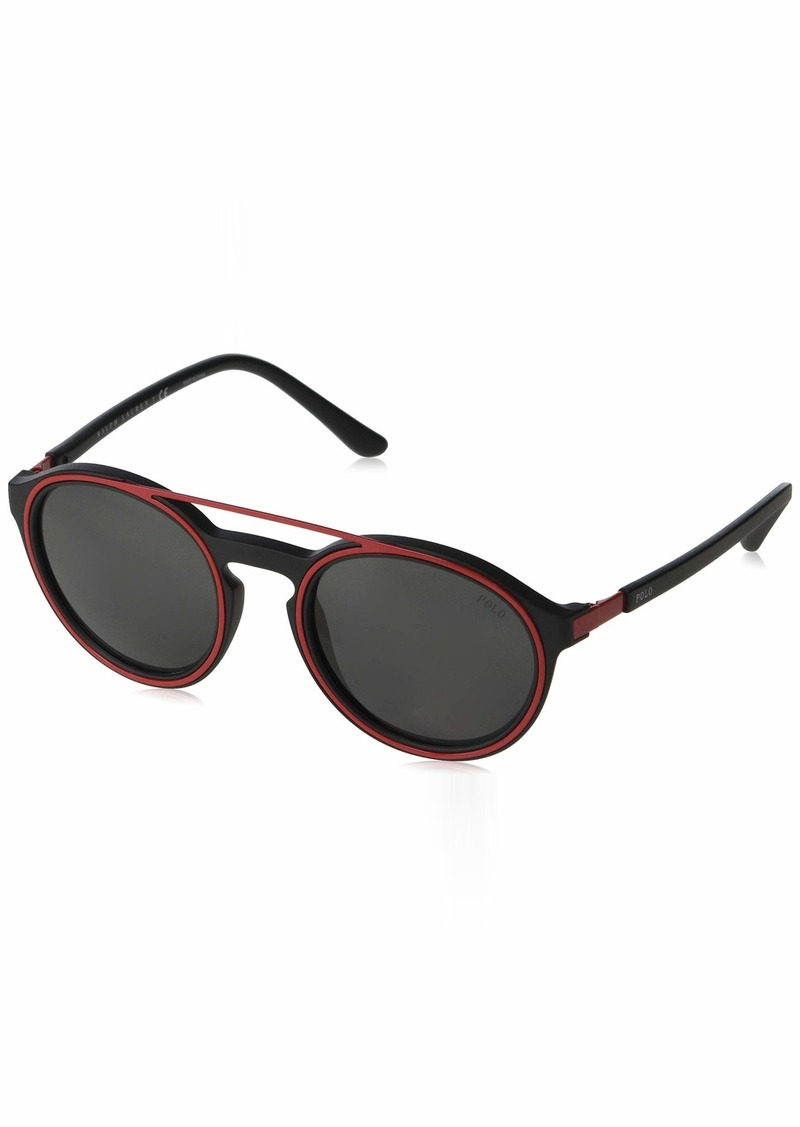 Ralph Lauren Polo Polo Ralph Lauren Men's PH4139 Round Sunglasses  51 mm