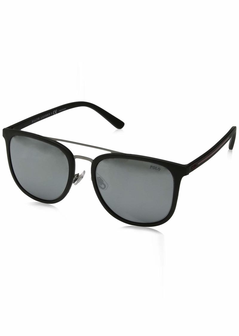 Ralph Lauren Polo Polo Ralph Lauren Men's 0ph4144 Square Sunglasses  53.0 mm