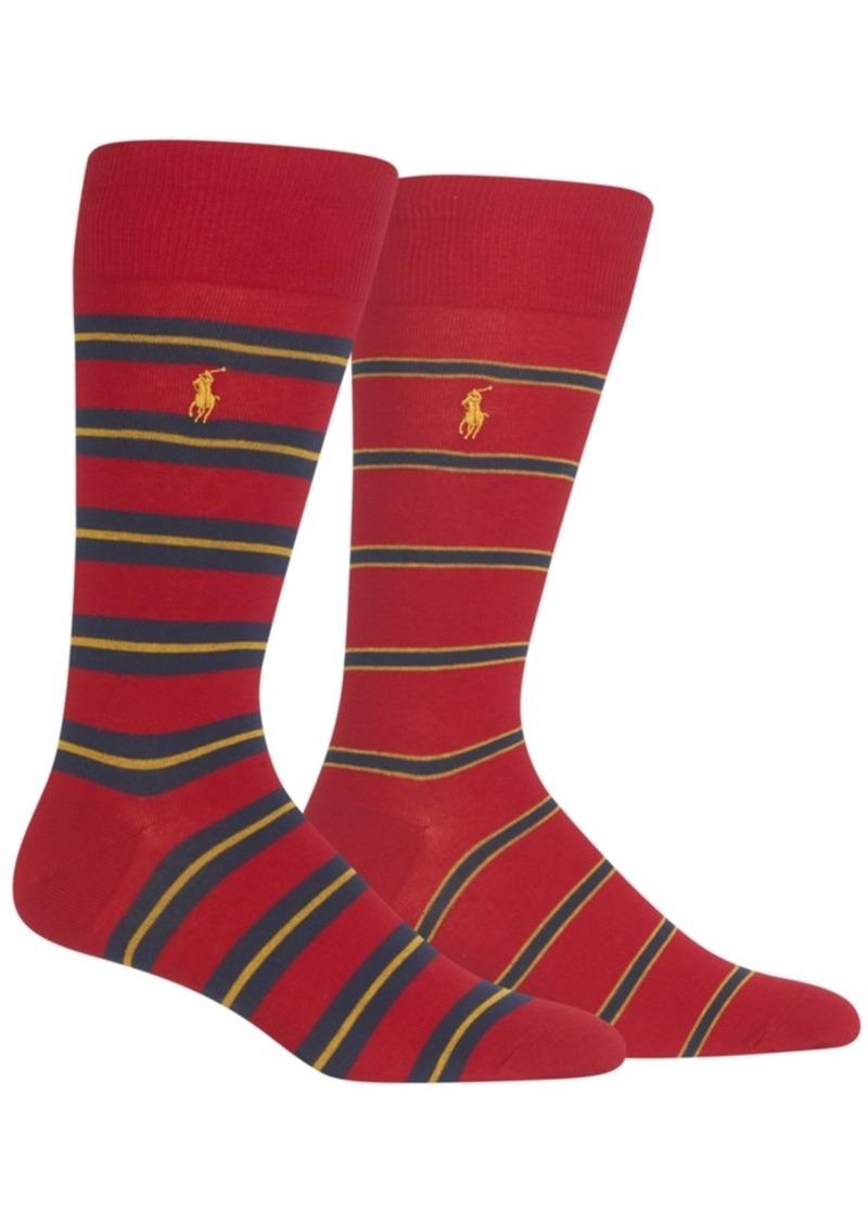 804b83ce0d9bc Ralph Lauren Polo Polo Ralph Lauren Men s 2-Pk. Striped Socks