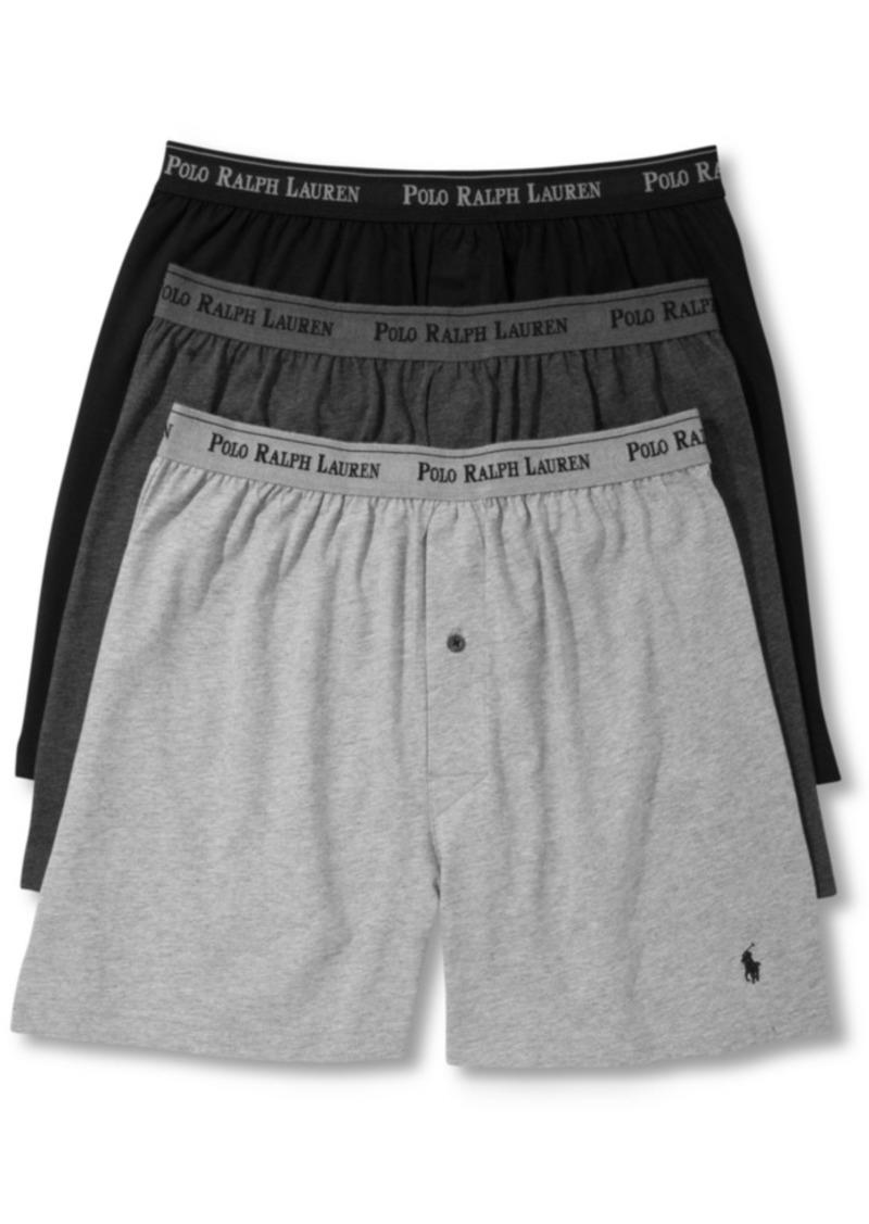 cd6df579034c Ralph Lauren Polo Polo Ralph Lauren Men's 3-Pk. Cotton Classic Knit Boxers