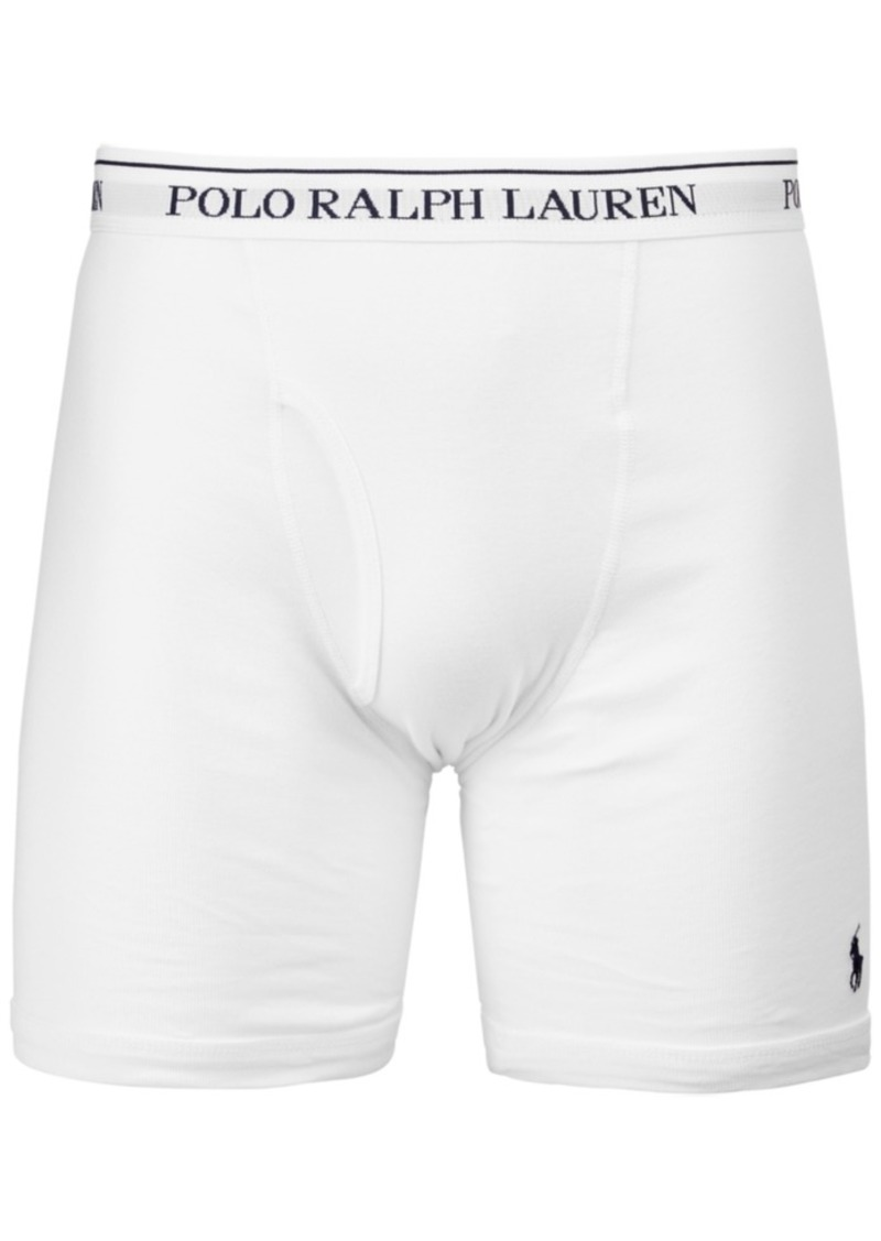 fashionable and attractive package quite nice fashion style of 2019 Ralph Lauren Polo Polo Ralph Lauren Men's 3-Pk. Long Classic Boxer Briefs |  Intimates