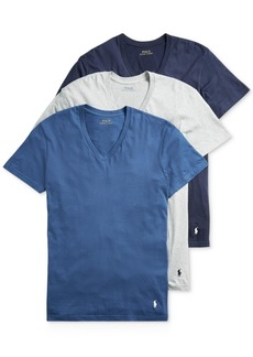 Ralph Lauren Polo Polo Ralph Lauren Men's 3-Pk. Slim Fit Classic T-Shirts