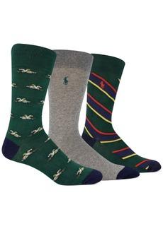Ralph Lauren Polo Polo Ralph Lauren Men's 3-Pk. Tossed Pheasants Slack Socks