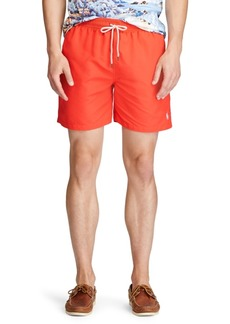 """Ralph Lauren Polo Polo Ralph Lauren Men's 5.5"""" Traveler Swim Trunks"""