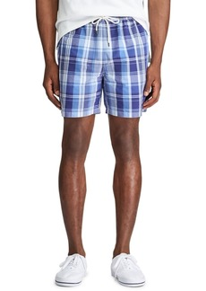 """Ralph Lauren Polo Polo Ralph Lauren Men's 5.5"""" Inch Traveler Swim Trunks"""