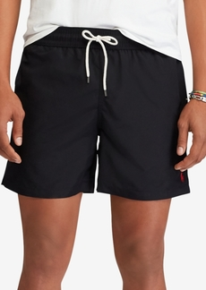"Ralph Lauren Polo Polo Ralph Lauren Men's 5 ¾"" Traveler Swim Trunks"
