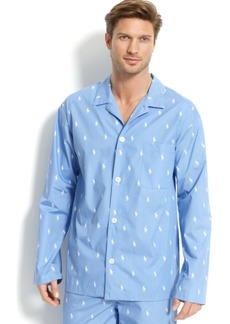 Ralph Lauren Polo Polo Ralph Lauren Men's All Over Polo Player Pajama Shirt