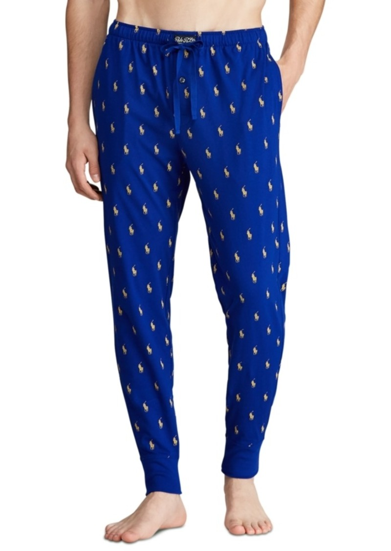 Ralph Lauren Polo Polo Ralph Lauren Men's All-Over Pony Player Pajama Joggers