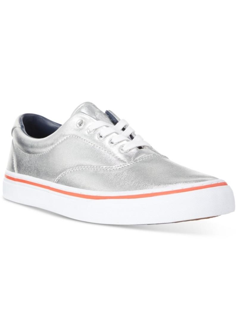 Ralph Lauren Polo Polo Ralph Lauren Men's Metallic Thorton Sneakers Men's Shoes