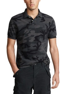 Ralph Lauren Polo Polo Ralph Lauren Men's Basic Mesh Camo Knit Classic Fit Polo Shirt