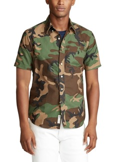 Ralph Lauren Polo Polo Ralph Lauren Men's Big & Tall Classic Fit Camo Shirt