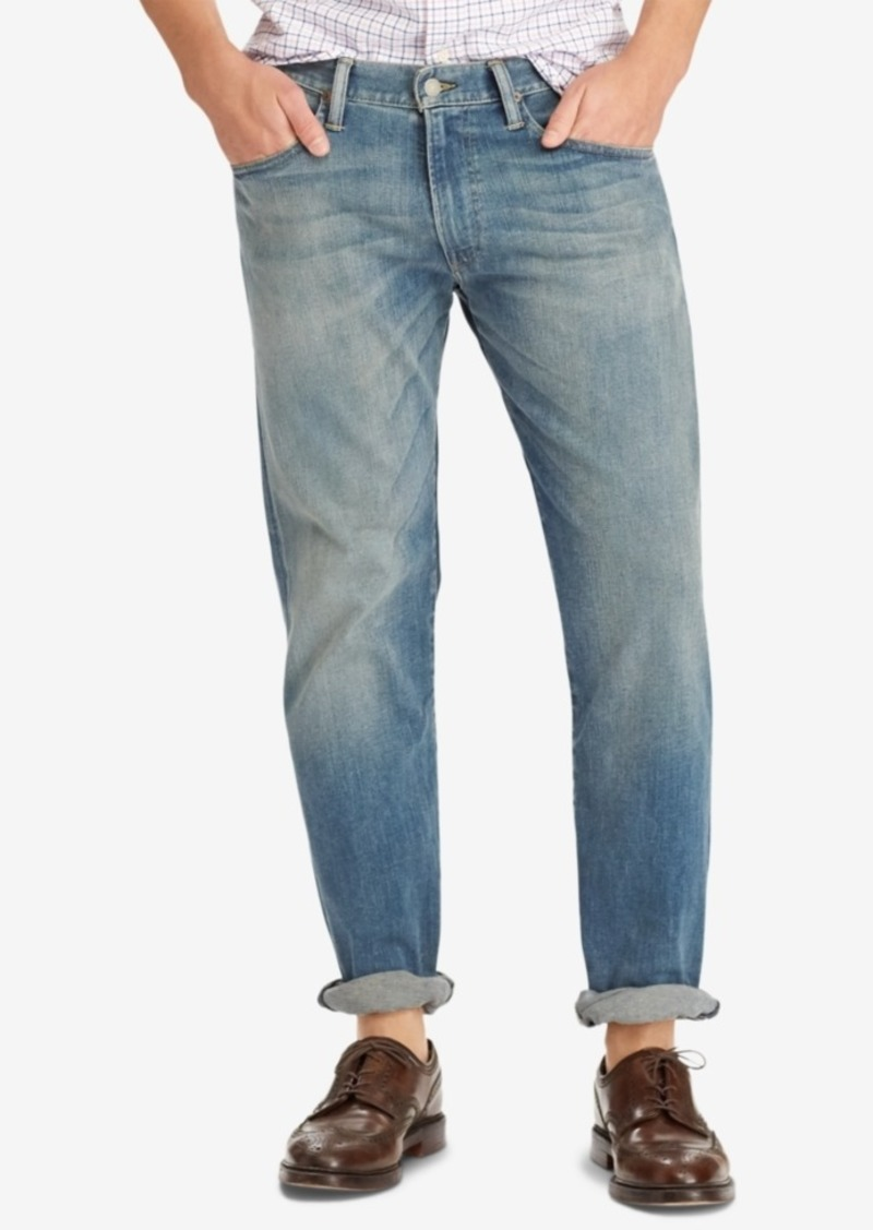 Ralph Lauren Polo Polo Ralph Lauren Men's Big & Tall Hampton Relaxed Straight Jeans