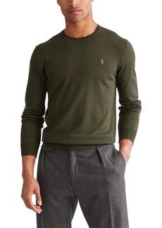 Ralph Lauren Polo Polo Ralph Lauren Men's Big & Tall Merino Wool Sweater