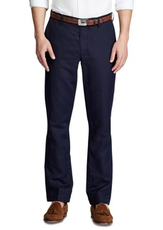 Ralph Lauren Polo Polo Ralph Lauren Men's Big & Tall Straight Fit Linen-Blend Pants
