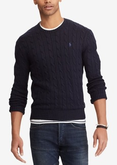 Ralph Lauren Polo Polo Ralph Lauren Men's Cable-Knit Cotton Sweater
