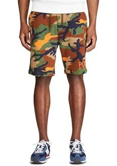 Ralph Lauren Polo Polo Ralph Lauren Men's Camo-Print Fleece Shorts