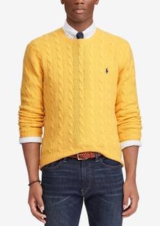 Ralph Lauren Polo Polo Ralph Lauren Men's Cashmere Wool Blend Cable-Knit Sweater