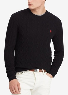 Ralph Lauren Polo Polo Ralph Lauren Men's Cashmere Wool Blend Cable-Knit Sweater