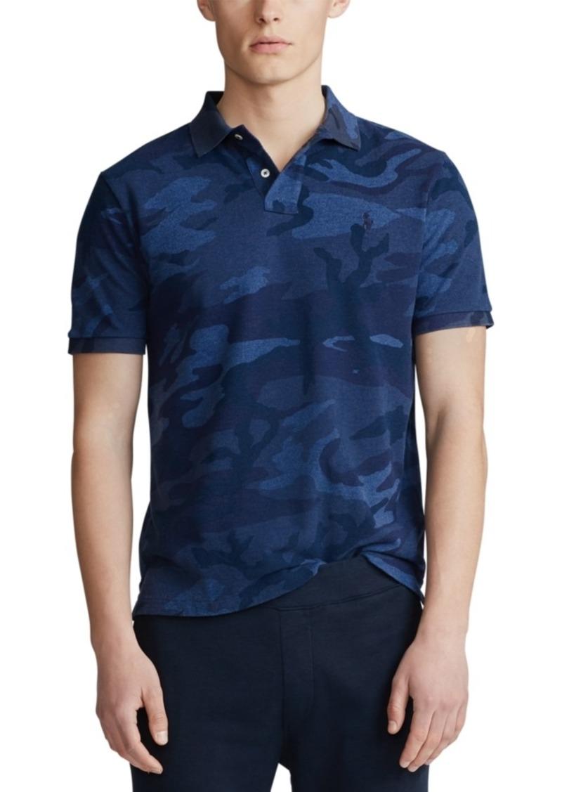 Ralph Lauren Polo Polo Ralph Lauren Men's Classic Fit Camo Mesh Polo Shirt