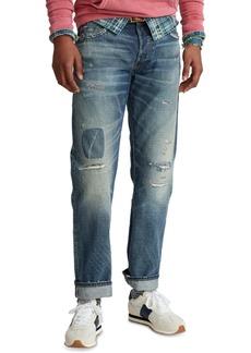 Ralph Lauren Polo Polo Ralph Lauren Men's Classic-Fit Distressed Selvedge Jeans