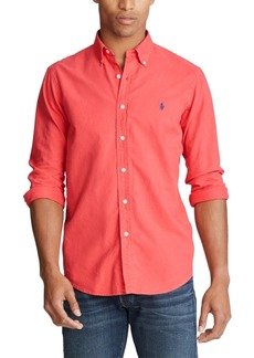 Ralph Lauren Polo Polo Ralph Lauren Men's Classic Fit Garment-Dyed Oxford Shirt