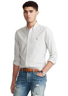 Ralph Lauren Polo Polo Ralph Lauren Men's Classic-Fit Gingham Oxford Shirt