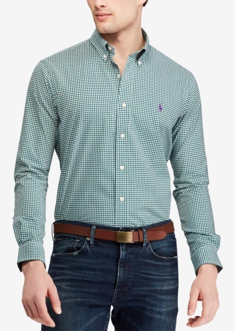 Ralph Lauren Polo Polo Ralph Lauren Men's Classic Fit Gingham Shirt