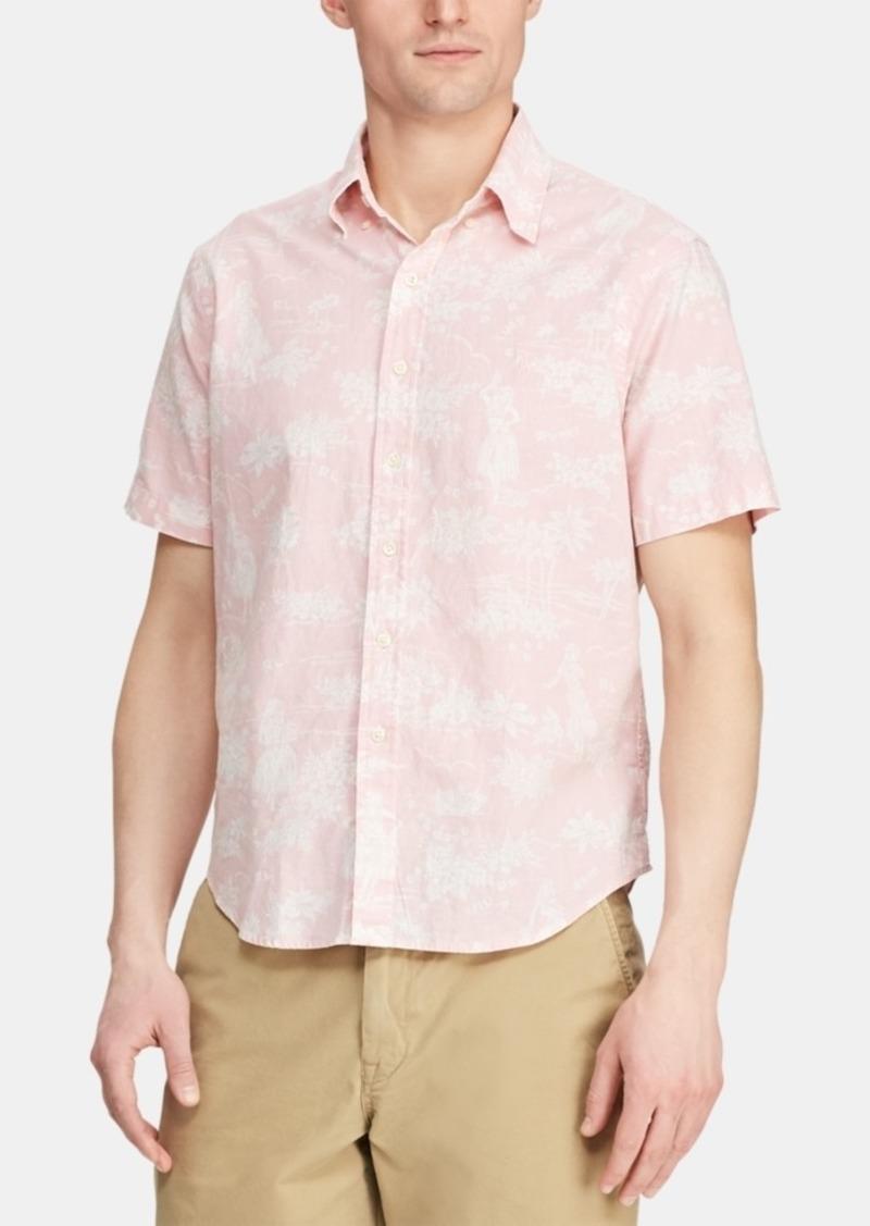 Ralph Lauren Polo Polo Ralph Lauren Men's Classic-Fit Hawaiian Camp Collar Shirt