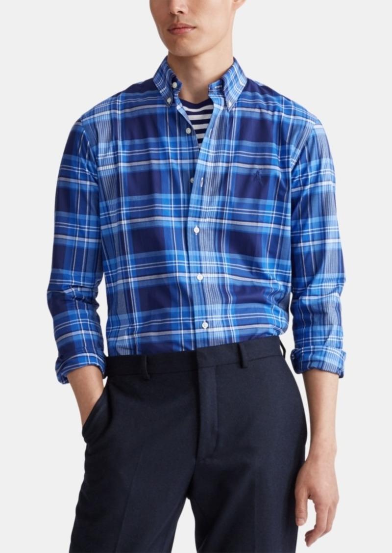 Ralph Lauren Polo Polo Ralph Lauren Men's Classic Fit Stretch Poplin Button-Down Shirt