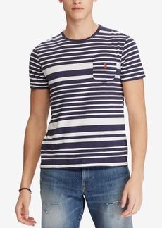 Ralph Lauren Polo Polo Ralph Lauren Men's Classic Fit Striped T-Shirt