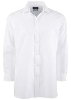 Ralph Lauren Polo Polo Ralph Lauren Men's Classic/Regular-Fit Wrinkle-Resistant Solid Pinpoint Oxford Dress Shirt