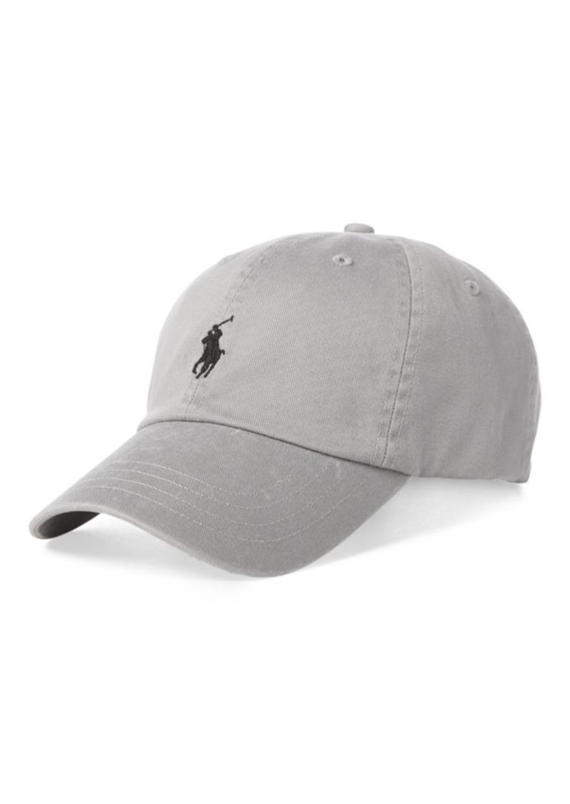 edbd5680f0a Ralph Lauren Polo Polo Ralph Lauren Men s Cotton Chino Baseball Cap ...