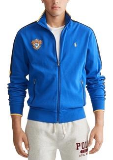 Ralph Lauren Polo Polo Ralph Lauren Men's Cotton Emblem Track Jacket