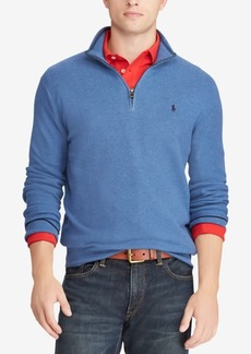 Ralph Lauren Polo Polo Ralph Lauren Men's Textured Half-Zip Sweater