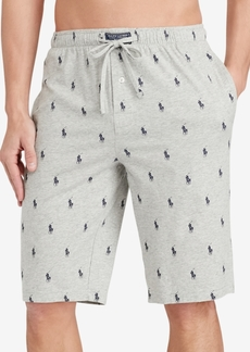 Ralph Lauren Polo Polo Ralph Lauren Men's Cotton Logo Pajama Shorts