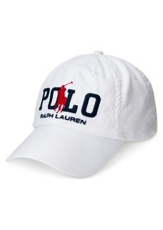 Ralph Lauren Polo Polo Ralph Lauren Men's Cotton Twill Ball Cap