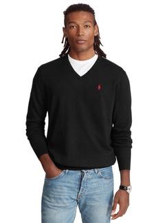 Ralph Lauren Polo Polo Ralph Lauren Men's Cotton V-Neck Sweater