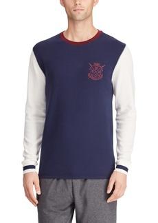 Ralph Lauren Polo Polo Ralph Lauren Men's Crest Logo Waffle Crewneck Shirt