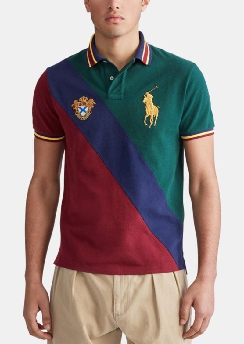 Ralph Lauren Polo Polo Ralph Lauren Men's Custom Slim Fit Big Pony Mesh Polo Shirt
