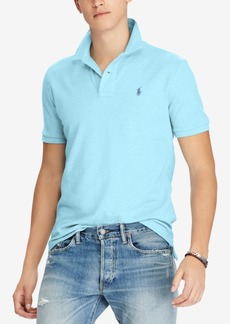 Ralph Lauren Polo Polo Ralph Lauren Men's Custom Slim-Fit Cotton Mesh Polo Shirt